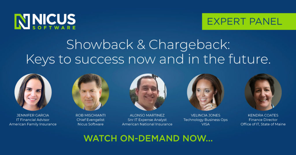 Showback & Chargeback Best Practices - Expert Panel Recap Banner